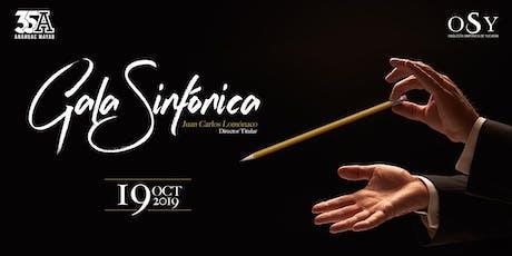 Gala Sinfónica boletos