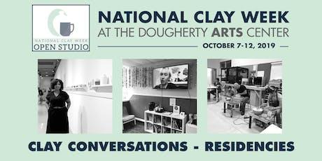 Clay Conversations: Residencies - National Clay Week tickets