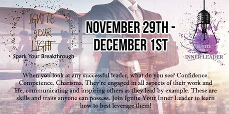 Ignite Your Inner Leader (November) tickets