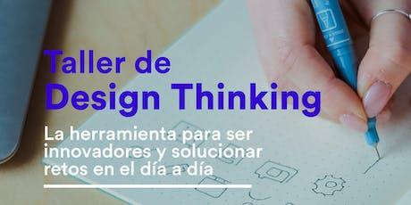 Taller de Design Thinking entradas