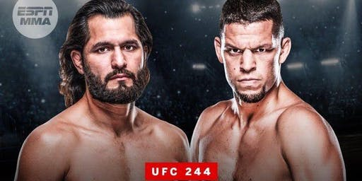 UFC 244 Diaz vs Masvidal at Nashville Underground