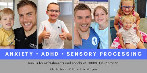 Anxiety, ADHD, & Sensory Workshop for Parents
