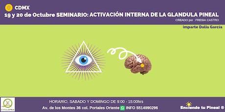 Seminario Activación Interna de la Glándula Pineal entradas