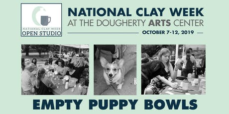 Empty Puppy Bowls - National Clay Week at the Dougherty Arts Center tickets