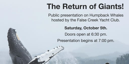 The Return of Giants - presentation on Humpback Whales