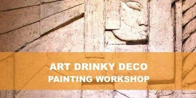 Art Drinky Deco with Artist Karen Aguilar