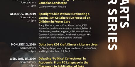 Spotlight Child Welfare - Tracy Sherlock, KPU Journalism tickets