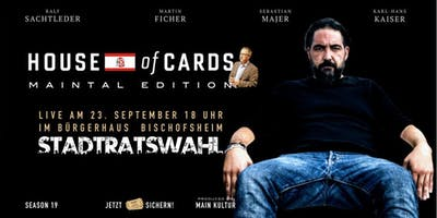 "House of Cards ""MAINTAL EDITION"" Stadtverordnetenversammlung"