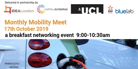 IDEALondon Monthly Mobility Meet #2 tickets