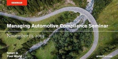 Managing Automotive Compliance Seminar
