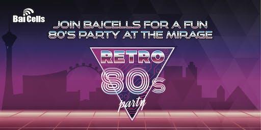 Baicells WISPAPALOOZA 80s Party- DoubleRadius