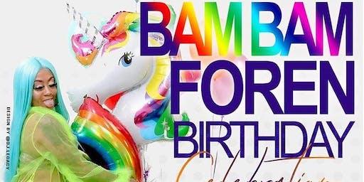 Ladies Night- Bam Bam Foren + Exotic Ray Birthday Parties.