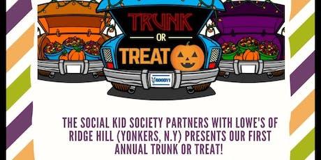 The Social Kid  Society Trunk or Treat tickets