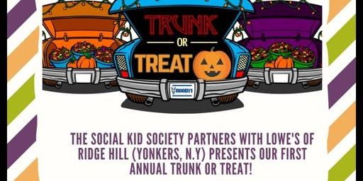 The Social Kid  Society Trunk or Treat