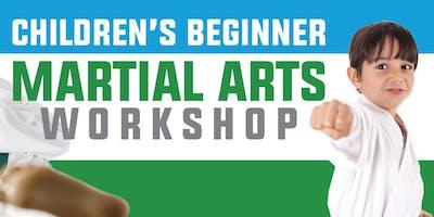FREE Children's Beginner Martial Arts Workshop