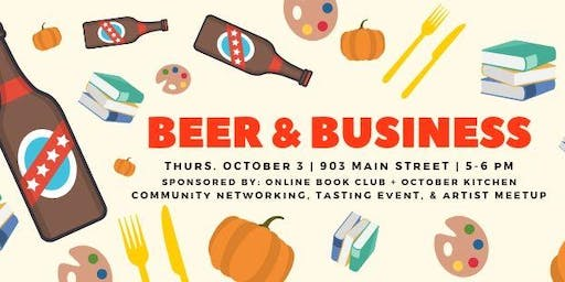 Beer & Business: Community Networking Hour
