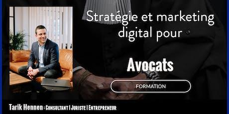 Stratégie et Marketing Digital pour Avocats billets