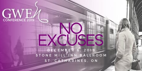No Excuses: GWEn Conference 2019 tickets
