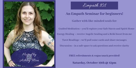 Empath 101 - A Workshop tickets