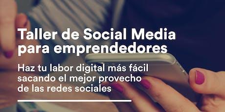 Taller de Social Media para Emprendedores entradas