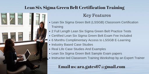 LSSGB Certification Course in Dodge City, KS