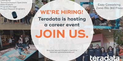 Teradata First TJ Hiring Event