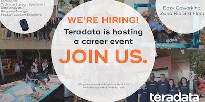 Teradata First TJ Hiring Event
