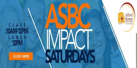 October Impact Saturday tickets
