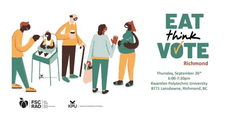 Eat Think Vote, Richmond tickets
