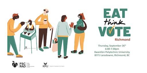 Eat Think Vote, Richmond
