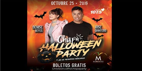 CHISPA HALLOWEEN PARTY- Free tickets