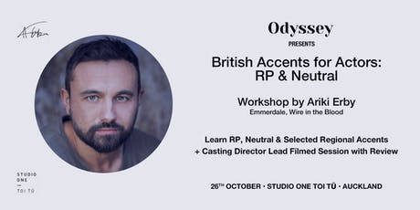 British Accent for Actors: RP & Neutral tickets