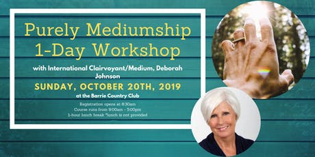 Purely Mediumship tickets