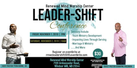 RMWC Leadership-Shift Conference tickets