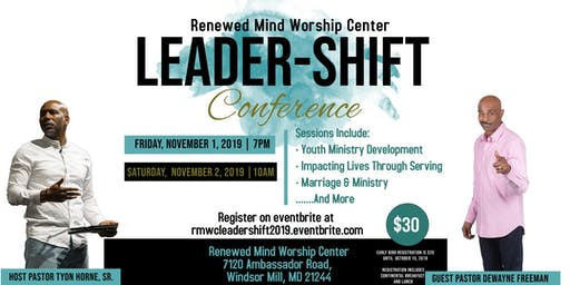 RMWC Leadership-Shift Conference