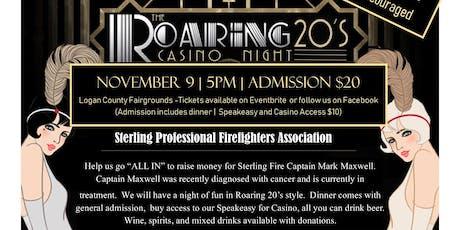 Roaring 20's Casino Night tickets
