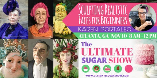 Sculpting Realistic Faces for Beginners with Karen Portaleo