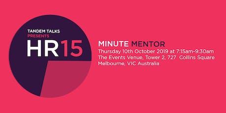 Tandem Talks: Minute Mentoring  tickets