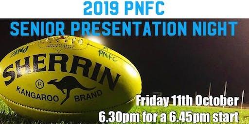 PNFC Senior Presentation Night 2019