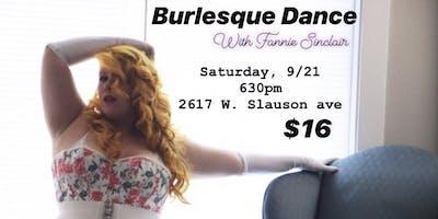 Burlesque Dance with Fannie Sinclair
