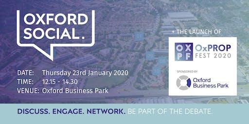 Oxford Social - 23 January 2020
