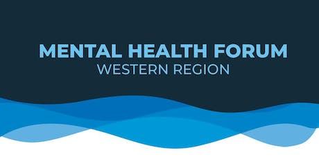 Mental Health Forum - Western Region tickets