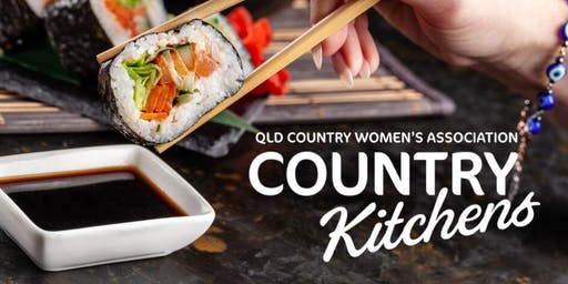 QCWA Country Kitchens Workshop: Sushi Demonstration