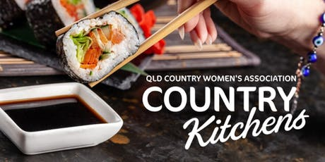 QCWA Country Kitchens Workshop: Sushi Demonstration tickets