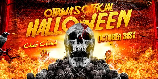Ottawa's Official Halloween Club Crawl & After-Party