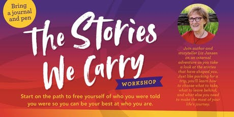 The Stories We Carry Workshop—Winnipeg tickets