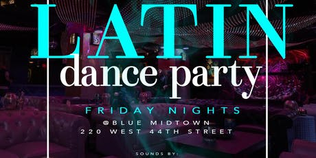 HALLOWEEN LATIN DANCE PARTY |FRIDAY NIGHT | BLUE MIDTOWN TIMES SQUARE NEW YORK CITY tickets