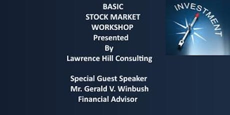 Basic Stock Market Workshop tickets