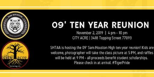 Sam Houston 09' Ten Year Reunion