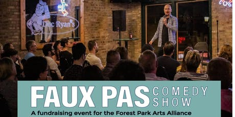 Faux Pas Comedy Show - October 11th  tickets